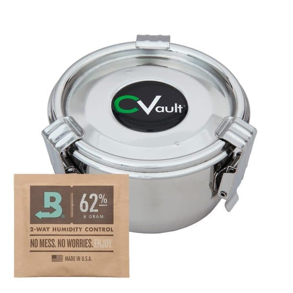 CVault marijuana storage container